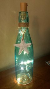Starfish lighted vase in Oswego, Illinois