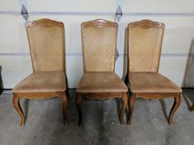 Beautiful antique chairs in Camp Pendleton, California