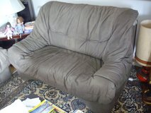 soft leather couch in Ramstein, Germany
