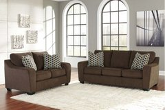 ASHLEY COPPELL BROWN SOFA/LOVESEAT in Schofield Barracks, Hawaii