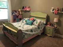 Girls 3 piece Bedroom Set including mattress in Eglin AFB, Florida