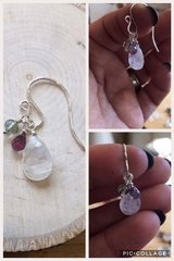 NEW Gorgeous Moonstone SS earrings in Eglin AFB, Florida