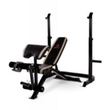 Joe Weider Bench with leg extension 260lbs capability (Red) in Temecula, California