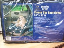 Guardian Gear Fleece Pet (Dog) Car Seat Cover in Spring, Texas