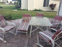 Aluminum Patio Set in Joliet, Illinois