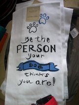 Be The Person Your Dog Thinks You Are Kitchen Towels in Spring, Texas