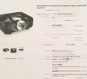 1080p Projector entertainment system in Yucca Valley, California
