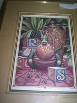 "Randal Spangler Dragon Print ""Wanna Play?"" in Spring, Texas"