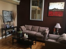 Living Room Set (Couch, Chair, End Table, Coffee Table, Console Table ) in Lockport, Illinois