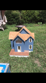Wooden doll house in Kingwood, Texas