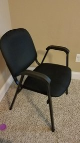 black officer chair. in Fort Bragg, North Carolina