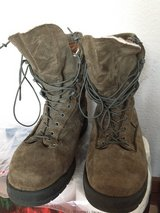 10.5 W Sage Green AF ABU Boots-Winter in Ramstein, Germany