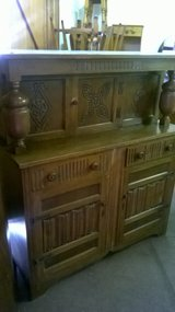 Sideboard Solid oak court cupboard in Cambridge, UK