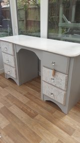 Handpainted, bespoke, shabby chic pine dressing table/desk in Cambridge, UK