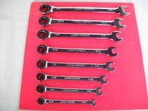8 Pc Craftsman Ratcheting Wrench  Set, SAE in Baumholder, GE