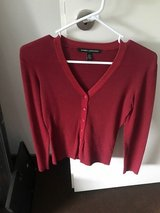 Burgundy Fitted Blouse in Wiesbaden, GE