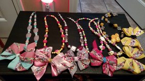 Girls necklaces with matching hair bow in Clarksville, Tennessee
