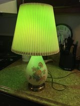 Antique floral lamp in Houston, Texas