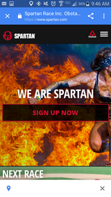 Runners!!  Spartan Race Ticket REDUCED!! in Camp Lejeune, North Carolina