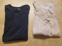 2 Mens t-shirts in Fort Drum, New York