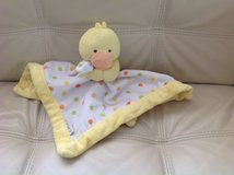 Carter's Yellow/White Duck Security Blanket with Plush in Elgin, Illinois