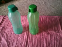 Tupperware Eco water bottles (new) in Quantico, Virginia