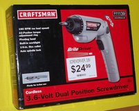 New Cordless Screw Driver *Reduced* in St. Charles, Illinois