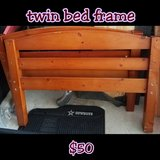twin bed frame in Fort Rucker, Alabama