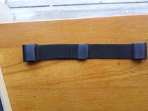 Fitbit charge 2 small black stainless steel milanese band in Clarksville, Tennessee