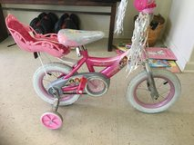 Girls bike with baby carrier in Alamogordo, New Mexico