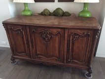 French Antique Buffet in Jacksonville, Florida