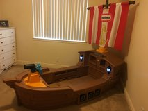 Little Tykes Pirate Ship bed in Temecula, California