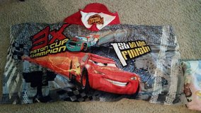 Disney Cars hooded towel in The Woodlands, Texas