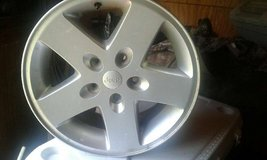 Jeep rims factory 17 inch in Lake Charles, Louisiana