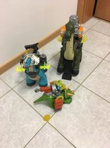 dinosaurs ($6 for each or $15 for all) in Ramstein, Germany