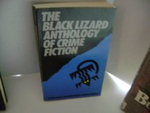 Vintage 1987 The Black Lizard Anthology of Crime Fiction Book in Joliet, Illinois