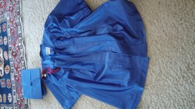 blue graduation gown and hat/ move out sale name your price in Vacaville, California