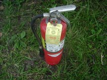 Amerex 10lb multi-purpose dry chemical fire extinguisher. in Fort Polk, Louisiana