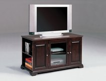 SALE! QUALITY SOLID ESPRESSO TV STAND! in Camp Pendleton, California