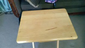5-Wood Eating Tray Tables,L/New in Fort Lewis, Washington