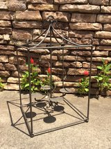 outdoor hanging candle rod iron lantern in Gainesville, Georgia