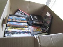 Box of DVD's(15 Used, 6 New) in Orland Park, Illinois