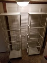Ikea shelving desk and chairs in Fort Carson, Colorado