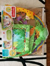 Fisher price rainforest lights and sounds playmat in Aurora, Illinois