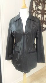 Like new!  Black Jacket / Rain Coat in Westmont, Illinois