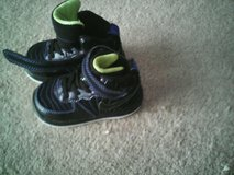 Nike Jordan's black with neon green in Quantico, Virginia