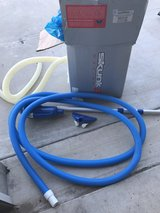 12 ft intex pool pump and cleaning tools in Lawton, Oklahoma