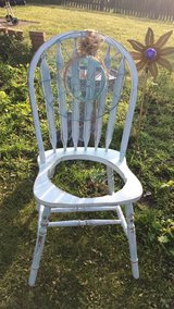 Shabby chic patio chair Planter in Joliet, Illinois