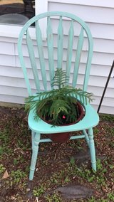 Shabby chic patio chair flower Planter in Joliet, Illinois