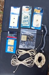 Phone Jacks & Stuff - Some New in Pkg in Alamogordo, New Mexico
